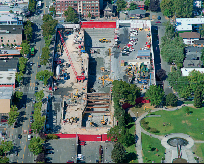 Surrounding the under-construction Capitol Hill Station, the development sites will line Broadway and neighbor Cal Anderson