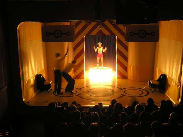 From the 2006-2007 season set of Never Swim Alone (Image: WET)