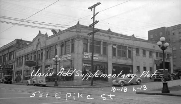 Dunn Automotive in 1937 (Image: Courtesy Hunters Capital)