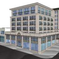 """Dunn Automotive, Pike and Summit – """"the new project is a showcase of what the City of Seattle's Pike/Pine preservation incentives should create"""""""