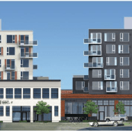 "Broadstone Capitol Hill, 11th at Union — ""the massive apartment project on the backside of Pike/Pine that is planned to incorporate elements of a handful of character structures currently standing on the site"""
