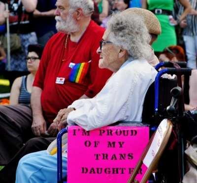 Trans* Pride in 2013 (Image: CHS)