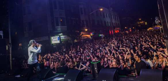 A$AP Rocky closes down CHBP 2014 (Image: Jim Bennett/CHBP with permission to CHS)