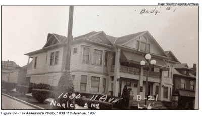 The building in 1937