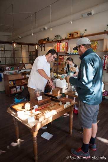 Baker Grunig makes a sale, meets a neighbor (Images: CHS)