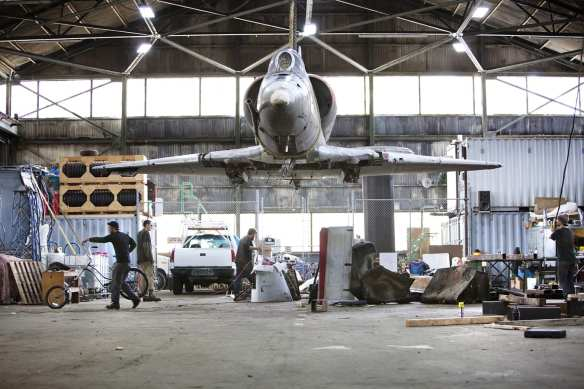 The art won't disappear once Capitol Hill Station opens. The Jet Kiss sculpture will soon hang above the loading  platform