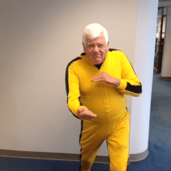 Your U.S. Representative for Washington's 7th congressional district, Jim McDermott knows how to celebrate Bruce Lee Day