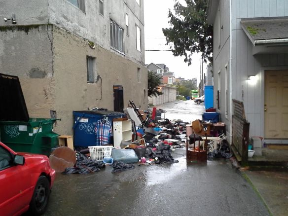 This mess near 12th/Denny is yet another instance of illegal dumping incidents on the Hill