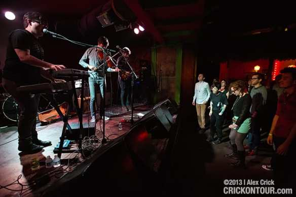 Night Cadet performing at Chop Suey in 2013 as part of the inaugural Mo Wave festival (Image: CHS)