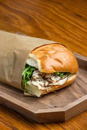 Starbucks Reserve Roastery and Tasting Room_Coffee Roasted Turkey Sandwich