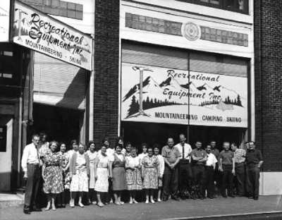 REI called 11th Ave home during its early growth as a retailing giant (Image: REI)