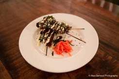 Japanese Yakitori King Oyster Mushroom skewers
