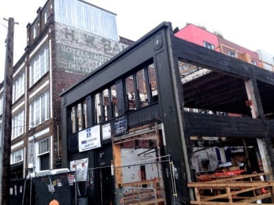 The future Chophouse Row. It looks way better now (Image: CHS)