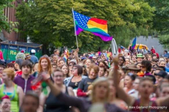 The 2014 Seattle Dyke March -- More pictures here (Images: CHS)