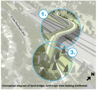 "The ""land bridge"" from the Montlake lid looks way more fun than it can possibly ever be"