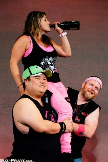Champ -- and Portland invader -- Teta