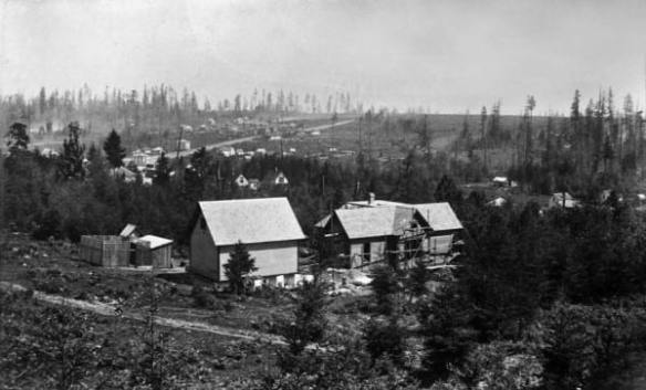 Northeast towards Renton Hill with Madison crossing, 1889