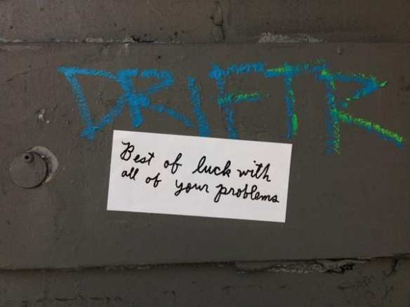 """Seen on my lunch walk through Capitol Hill, Seattle"" (Image: SudsyMaggie via Twitter)"