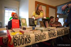 Drew Swenhaugen and Hajara Quinn of Portland's Octopus Books