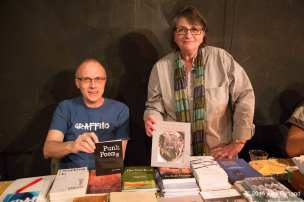 Kathryn Rantala and John Burgess of Ravenna Press