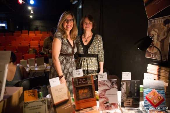 Kelli Russell Agodon and Annette Spaulding-Convy of Two Sylvias Press