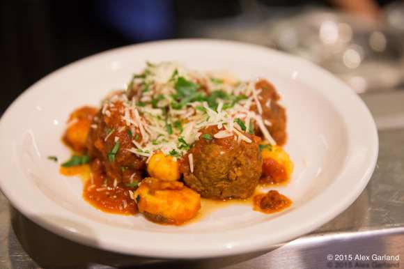 spicy beef and pork meatball