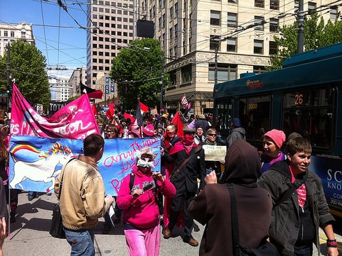 Marchers in 2012 (Image: CHS)