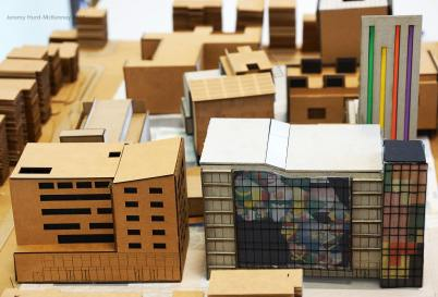 A model exercise from Dr. Sutton's undergraduate architecture class