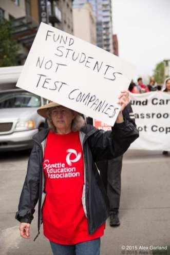 Hey Olympia, it's Seattle teacher walkout day — UPDATE