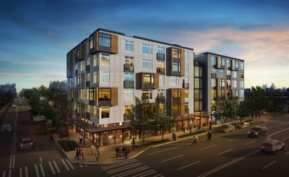 The Central with 92 apartment units and 4,500 square feet of commercial space is set to complete construction at 23rd and Union before the end of the year
