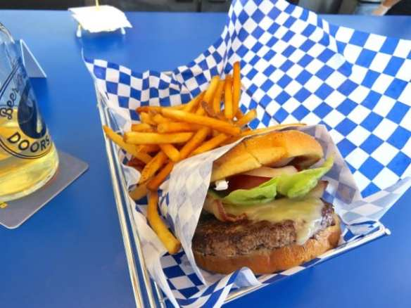 The Two Doors Burger (Images: Doug McLaughlin for CHS)