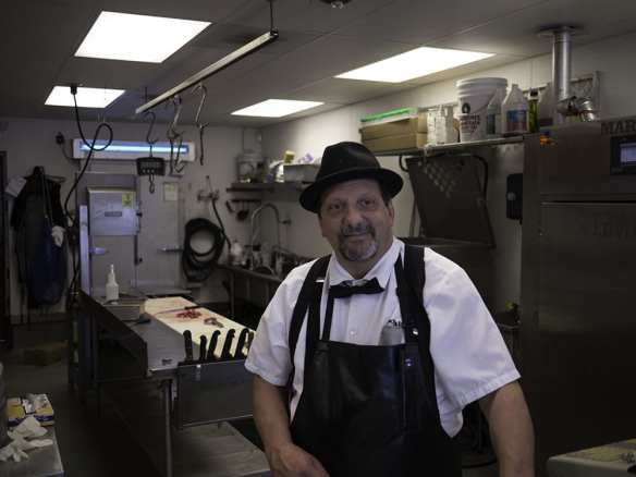 Tom Salle, owner of Meat the Live Butcher in White Center. Grandson of Nunzio and Carmella (Di Pasquale) Salle
