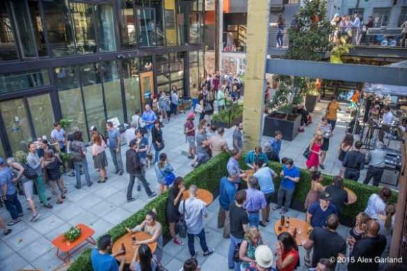 The grand opening of Chop House Row was a 2015 highlight (Image: CHS)