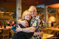 Stan Moshier and Lori Campbell at Rooster's