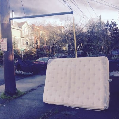 Not a Sleep Train mattress. Probably. (Image: CHS)
