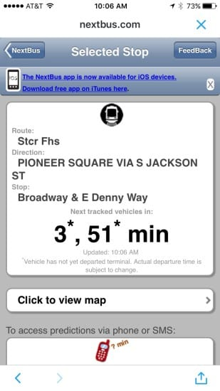 The streetcar is on nextbus.com... it's official!