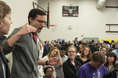 The scenes from Lowell Elementary (Images: Alex Lorden)