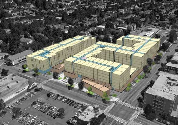 Vulcan's 23rd and Jackson project will go in front of the design board for the first time on May 10th