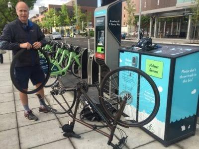 The true spirit of Bike Everywhere Day!