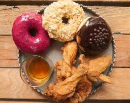 friedchicken-donut-whisky