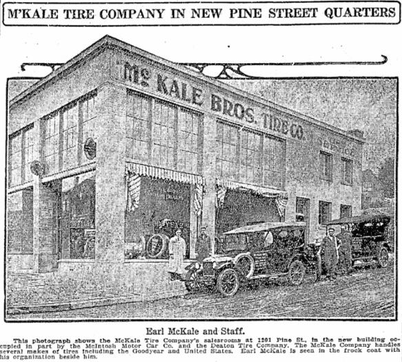 McKale's, 1919