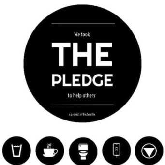 The Pledge Sticker Example
