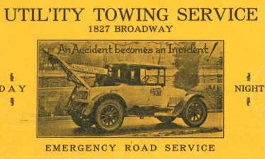 Utility Towing Service Letter Head