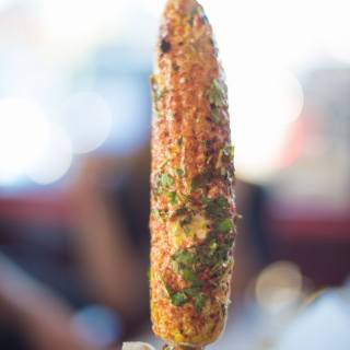 and roasted corn. (Images: Paseo)