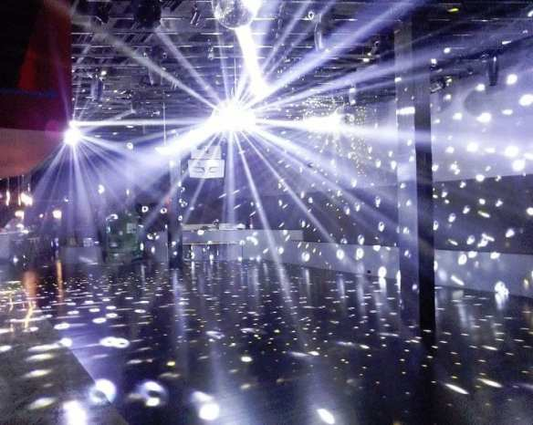 The four Q disco balls got a beta test in 2012 (Image: Q)