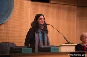 Sawant at the start of her term (Image: CHS)