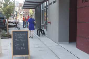 Broadcast Coffee opened on Bellevue Ave in 2012 (Image: CHS)