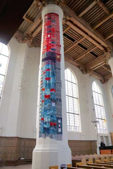 """You can visit the """"Sanctuary"""" installation at Saint Mark's through July"""
