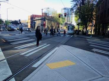 The all way walk at Westlake and 7th (Image: SDOT)