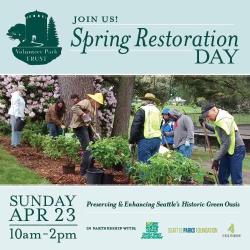 Image: VPT's Spring Restoration Day
